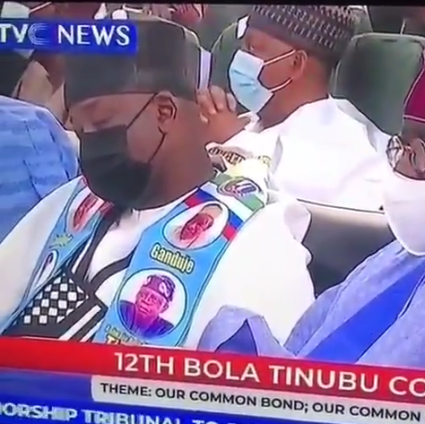 The Moment Guest Slept At Bola Tinubu's Colloquium Held In Kano State