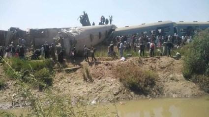 Train Crash Kills At Least 32, Injure Over 66 In Egypt