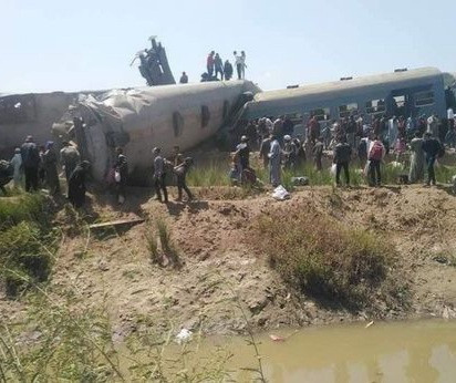 Train Crash Kills At Least 32, Injure Over 66 In Egypt