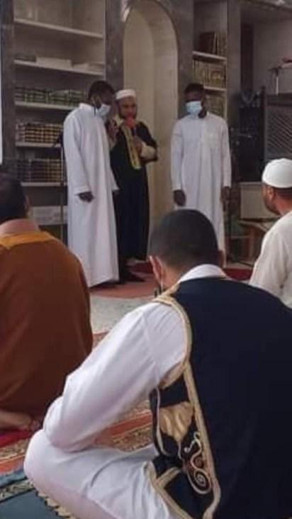 2 Nigerian Men Convert To Islam In Libya