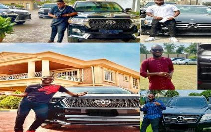 5 Male Nigerian Celebrities Who Acquired Cars In 2021