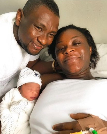 Actress Chacha Eke-Faani And Husband Austin Faani Welcomes 4th Child