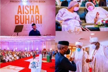 Dangote Gives N30m, Tinubu Gives N20m At Aisha Buhari's Book Launch