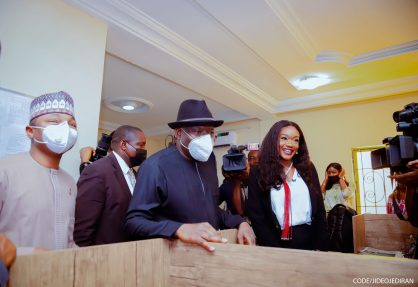 Goodluck Jonathan Hails TOS TV NETWORK And Founder, Osasu Igbinedion, Advocates For More Women And Youths In Politics