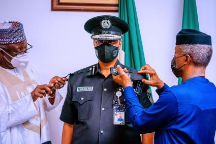 I Will Battle Banditry, Kidnapping, Secessionists - IG, Usman Alkali Baba