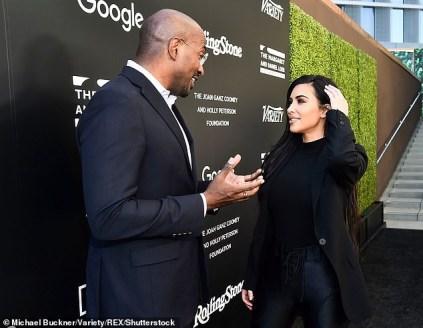 Kim Kardashian Dating CNN Presenter, Van Jones