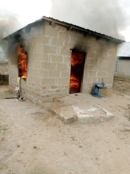 Lady Sets Her Boyfriend's House Ablaze Over Misunderstanding In Benue