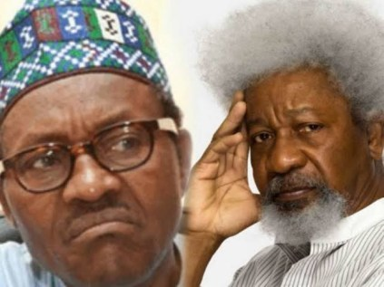 'Nigeria is at war, seek help, youths should not serve as ritual offering on the altar of a failing state' - Wole Soyinka tells Buhari