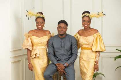 Nigerian Triplets Celebrates Their Birthday In Style