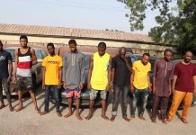 Nine Notorious Armed Robbers Arrested In Niger State