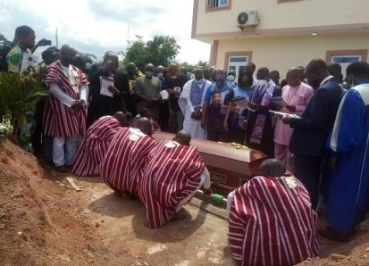 Odumakin Laid To Rest In His Home Town