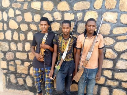 Police Arrest 4 Suspects For Kidnapping And Extortion, Recover Threat Letters, Guns In Adamawa