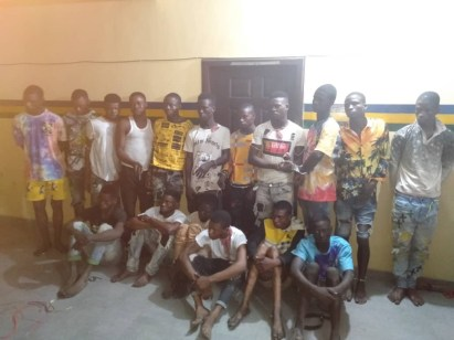 Police Arrest Vigilante Member For Killing Passerby; Nabs 17 Suspected Armed Robbers