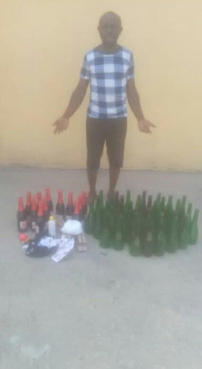 Police Uncover Illegal Brewery, Arrest One In Delta Community