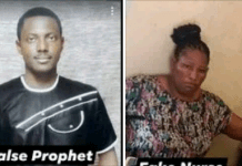 Prophet, His Female Accomplice Accused Of Stealing Newborn Baby From The Mother In Delta State