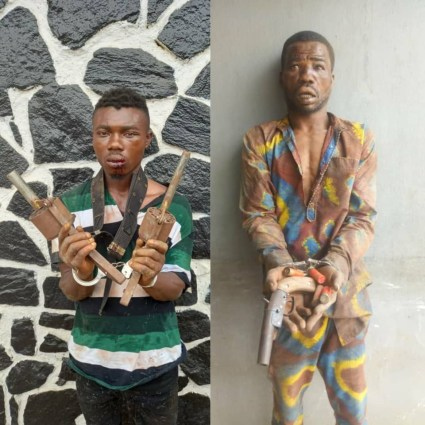 See Photos As Serial Killer Cultists Is Apprehended In Lagos