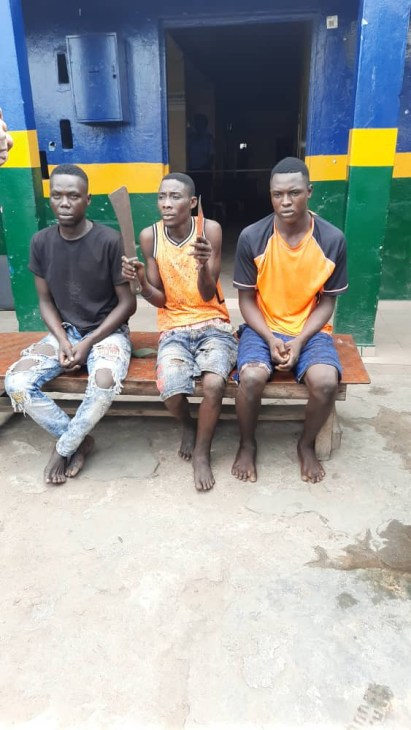 See Photos As Traffic Robbers Are Arrested In Lagos