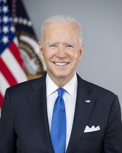 See Photos As White House Unveils Official Portraits Of Joe Biden And Kamala Harris