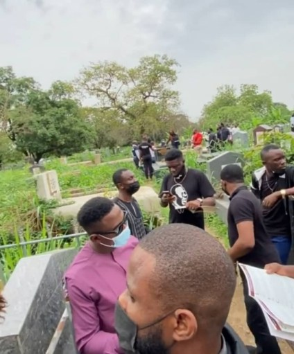 See Photos, Video As Comedian Callibird Is Laid To Rest