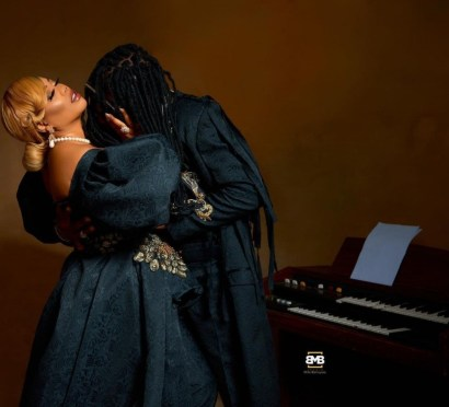 Toyin Lawani Releases Pre-Wedding Photos With Her Man, Segun Adebayo