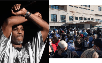 Watch Video As DMX's Family Holds Vigil For The Rapper Outside New York Hospital