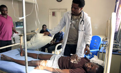 100 students hospitalised after inhaling chemicals in Ekiti