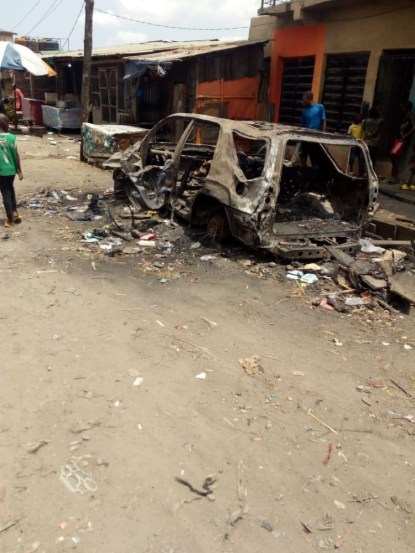 Angry Youths Attack Vigilante Commander Over Blasphemy In Lagos