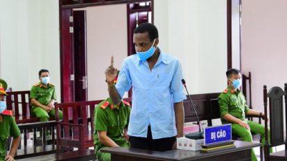 Nigerian Footballer Sentenced To Death In Vietnam For Smuggling Drugs