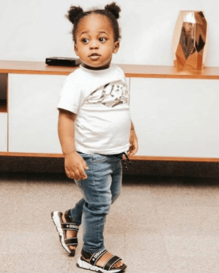 Nigerian Singer, Davido Names His Son With Chioma, Ifeanyi, As His Heir Apparent