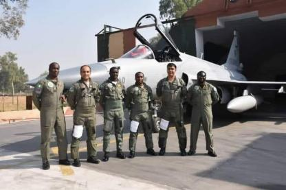 Pakistan Delivers JF-17 Fighter Jets To Nigerian Air Force
