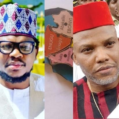 Adamu Garba 'Biafra Map Less Than Half Of Borno, Nnamdi Kanu To Burn That Small Region'