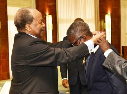 Cameroon Confers Highest Civilian Honour On Aliko Dangote