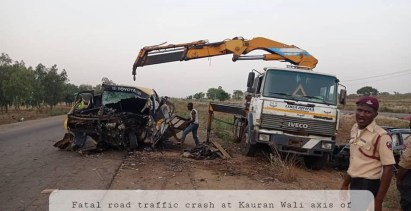 Kaduna State Govt Confirms Death Of Wedding Guests, Others In Fatal Car Crash Along Zaria-Kano Road