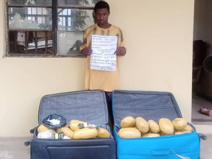 NDLEA Arrests 2 Bandits Drug Suppliers In Niger State And A 20-Year-Old With Cocaine In Delta