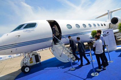 Photos Of Cristiano Ronaldo's $25m Private Jet