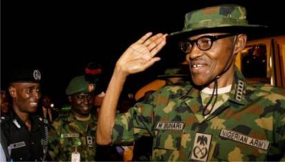 President Buhari Meet With Nigerian Troops In Borno