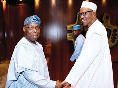 Rumour Of President Buhari Being Dead And Replaced By Jibril From Sudan Is Ridiculous - Obasanjo