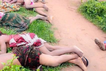 See Photos As Suspected Fulani Herdsmen Kills 4 Women, 2 Others In Nasarawa