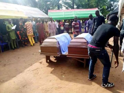 Two Brothers Who Were Murdered By Suspected Fulani Herdsmen Laid To Rest In Ebonyi
