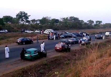 Women And Youths Block Abuja-Kaduna Highway To Protest Banditry