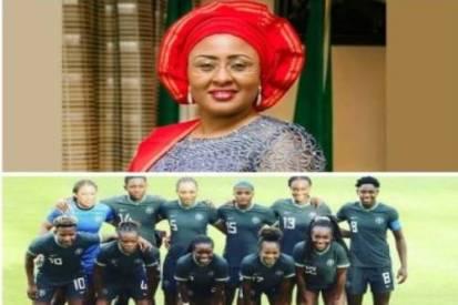 Nigeria's National Female Football Team In Faraway Austria Preparing For Wasteful Self-serving Aisha Buhari Tournament