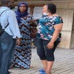 Sunday Igboho's Wife Arrives Benin Republic Court