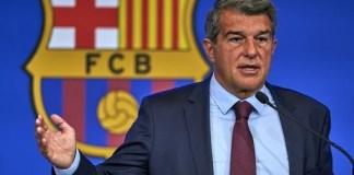 Barcelona president slams predecessor after he reveals €1.35billion debt