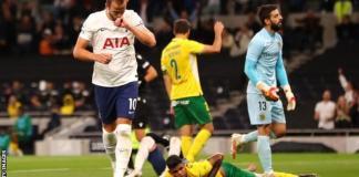 Kane Scores Twice As Tottenham Move Into The Europa League