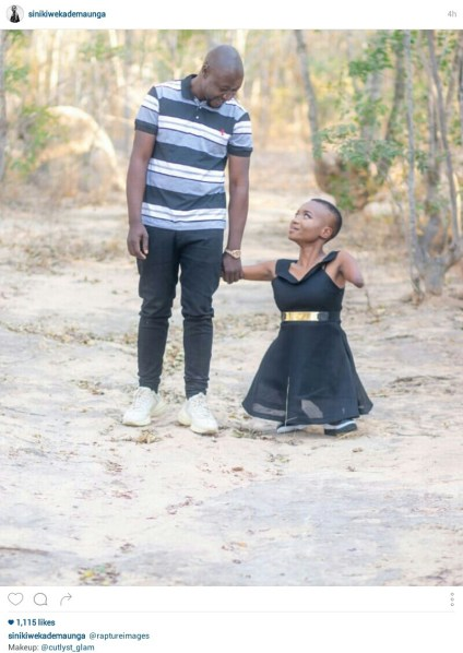 Motivational Speaker Born Without Limbs Shows Off Her Man On Instagram