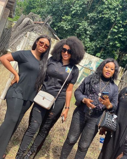 Photos From The Burial Of Nollywood Actor, Stanley Okoro