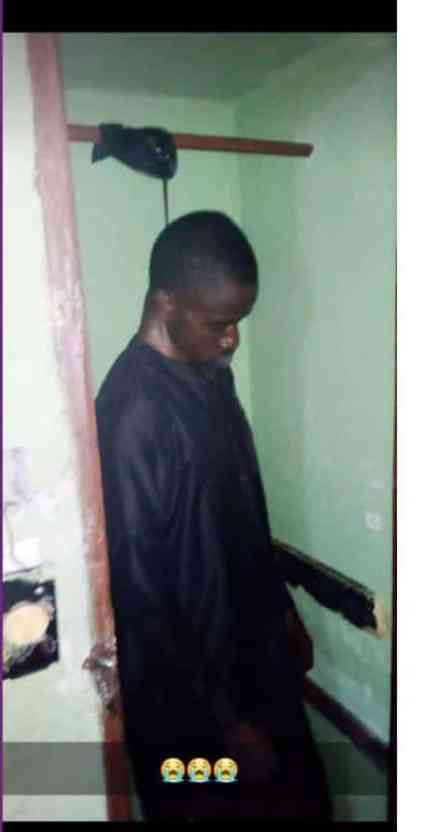 See Graphic Photo As UNIZIK Student Commits Suicide In Anambra