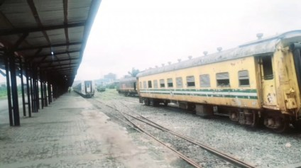 The Condition Of Nigeria Rail Terminal In Port Harcourt
