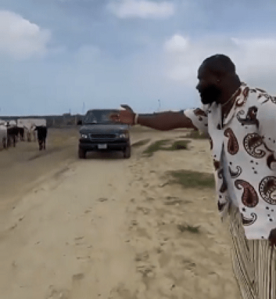 The Moment Singer, Harrysong Introduced Cows As Senior Citizens Of Nigeria
