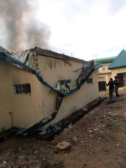 Hoodlums Raze INEC Office In Enugu